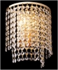 бра EGYPT CRYSTAL 3122/2 золото прозрачный хрусталь купить