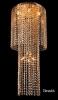 люстра EGYPT CRYSTAL 1079/12 золото/тонированный хрусталь купить