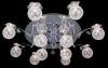 люстра галогеновая Halogen с ПДУ 5316/12 хром/синий купить