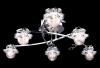 Купить: люстра галогенная с ПДУ Halogen 5319/6J хром, синяя подсветка