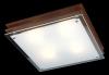светильник потолочный SHINE 2746/4 квадрат темное дерево купить