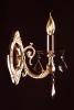 бра хрустальное EGYPT CRYSTAL 3116/1 золото/тонированный хрусталь купить
