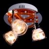 светильник потолочный SPOTS 1907-3H хром-желтый купить