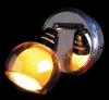 светильник настенный SPOTS 1911-1 хром-желтый купить