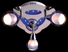 светильник потолочный SPOTS 1911-3 синий купить