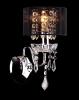 Светильник настенный EGYPT CRYSTAL 2045/1 хром/черный купить