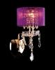 Светильник настенный EGYPT CRYSTAL 2045/1 золото/розовый купить