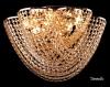 Купить: Светильник настенный CRYSTAL 1089/9  золото/тонированный хрусаль
