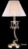 лампа настольная EGYPT CRYSTAL 1087/1 золото/белый купить