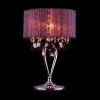 Купить: лампа настольная EGYPT CRYSTAL 3153/1Т хром/гранатовый хрусталь