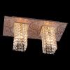 люстра хрустальная EGYPT CRYSTAL 3434/2 золото/тонированный хрусталь купить