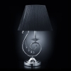 лампа настольная EGYPT CRYSTAL 2044/1T хром/черный купить