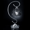 Купить: лампа настольная EGYPT CRYSTAL 3446/1T хром/дымчатый хрусталь