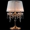 настольная лампа EGYPT CRYSTAL 2045/3T золото/белый купить