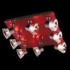 светильник SPOTS 25333/8 хром/красный купить