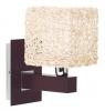 Купить: бра с плетеным абажуром ALFA Abaka Bez 13650
